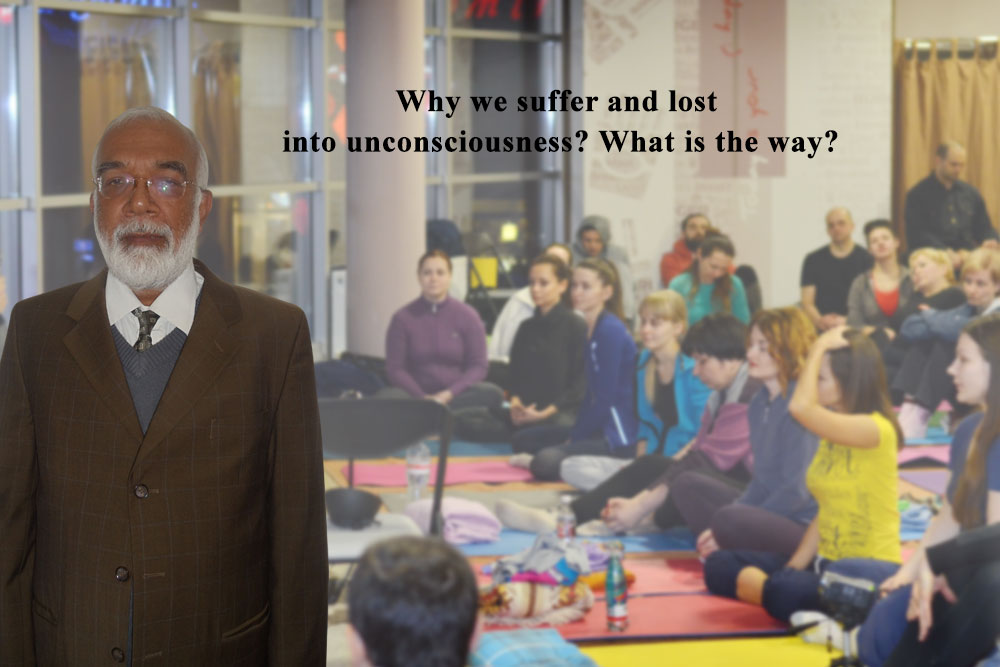 Girish sir meditation program - unconsciousness